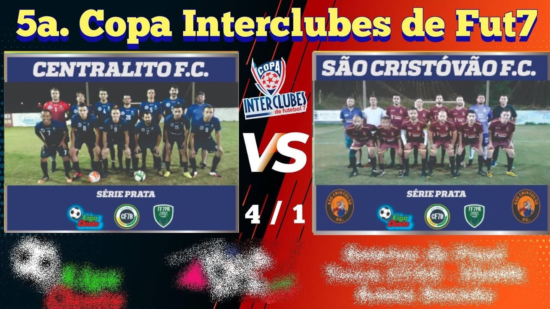 """Centralito vence São Cristóvão e garante vaga na semifinal da 5ª Copa Interclubes """"Série Prata"""""""