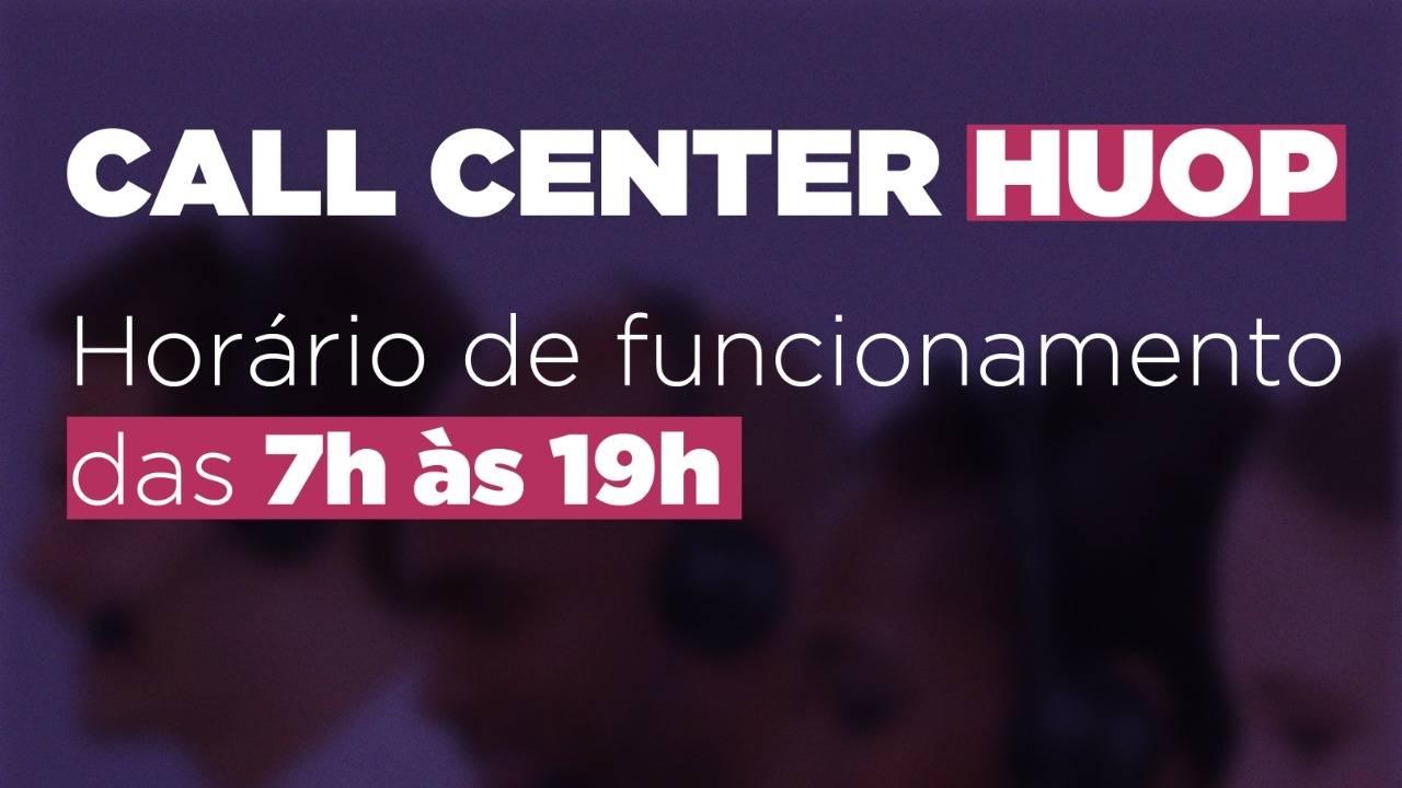 Call Center do Huop atende mais de 30 famílias diariamente