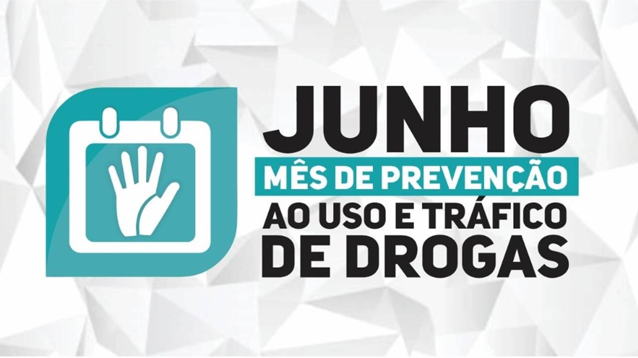 Ações marcarão o mês de prevenção ao uso de drogas