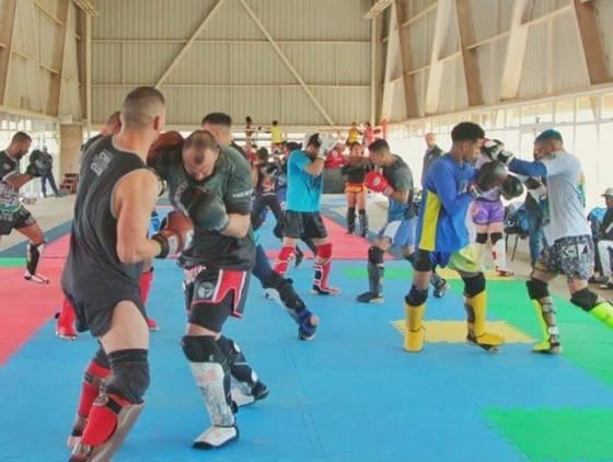Seleção Brasileira de Kickboxing realiza Camping de preparação em Cascavel
