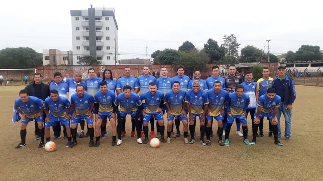 São Cristóvão F.C vence Agrossol e é Tricampeão do Campeonato de Futebol de Veteranos Máster/40