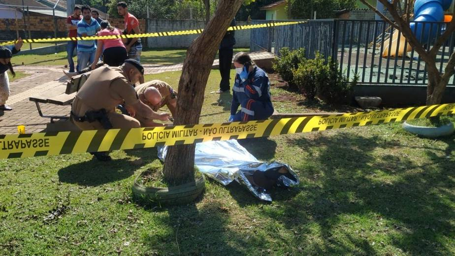 Jovem é  morto a tiros no Bairro Parque Verde em Santa Helena