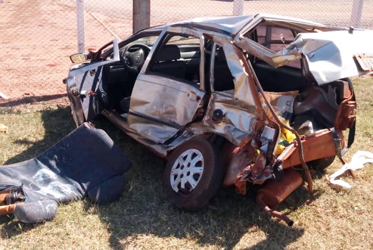 Colisão de trânsito tira a vida de motorista na PR-486 em Brasilândia do Sul