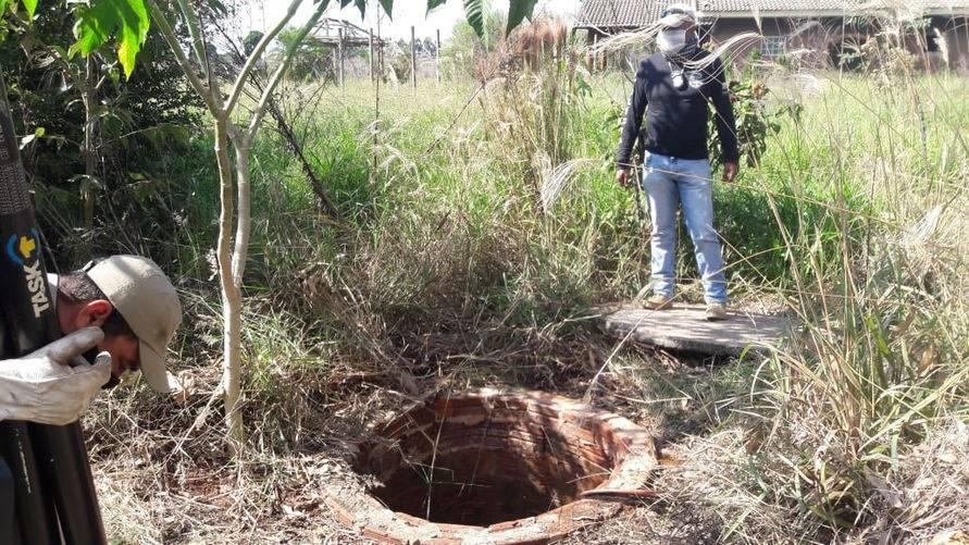 Corpo de mulher assassinada pelo marido foi jogado em um poço em Apucarana
