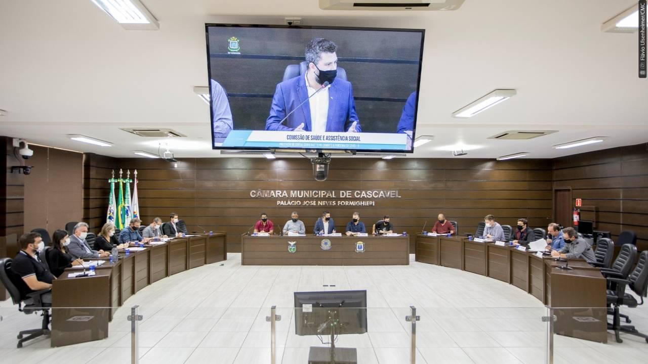 Reunião conjunta de comissões ouve prestação de contas sobre recursos para Covid-19
