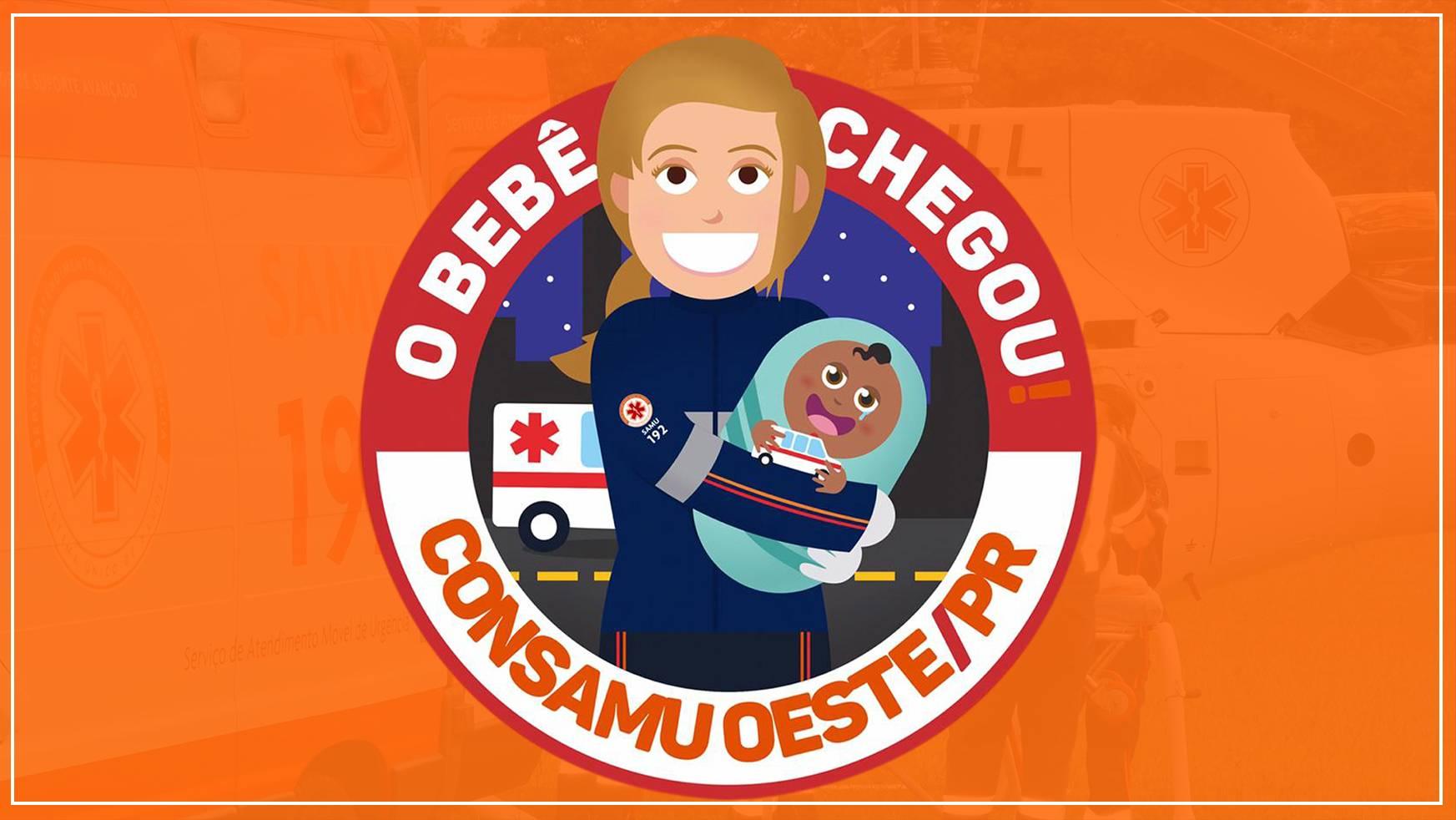 Socorristas do Samu realizam parto de menino no interior da ambulância em Cascavel
