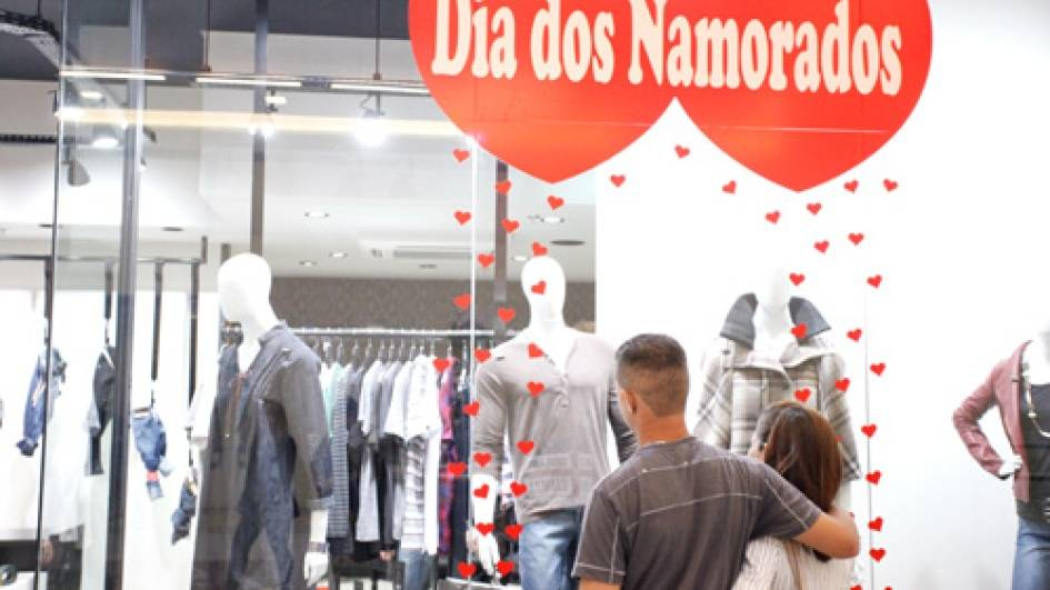 Pesquisa Faciap/Acic aponta otimismo no comércio para Dia dos Namorados