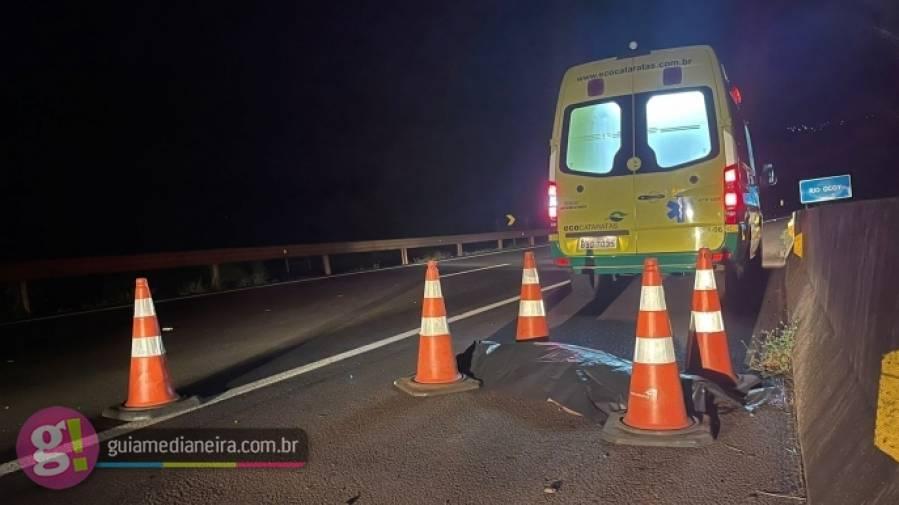 Homem morre atropelado na BR-277 entre Medianeira e Matelândia