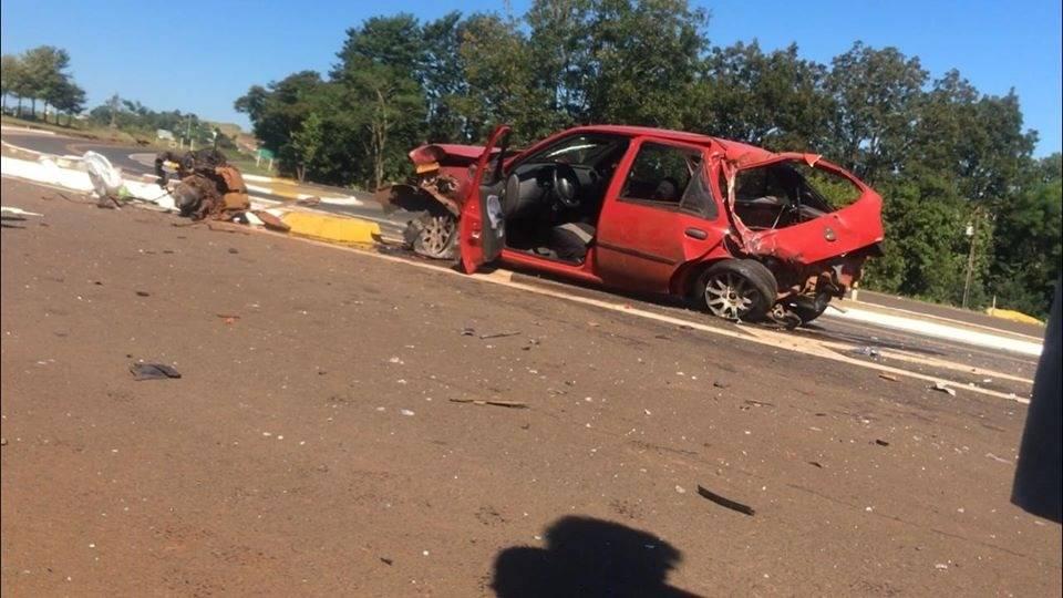 Idoso morre após acidente em Pérola D'Oeste
