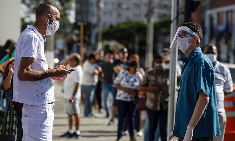 Brasil ultrapassa 100 mil casos confirmados de covid-19