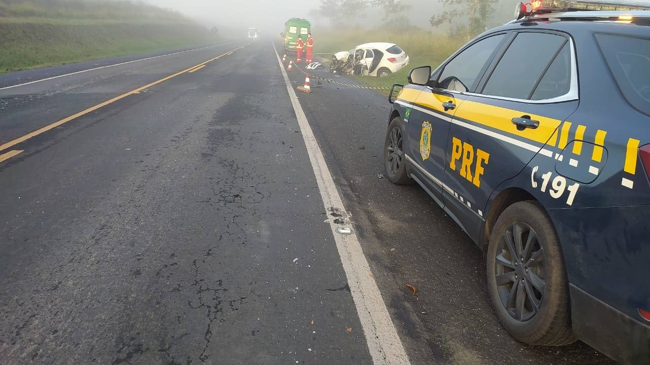Polícia Militar morre em grave acidente de trânsito na BR-373