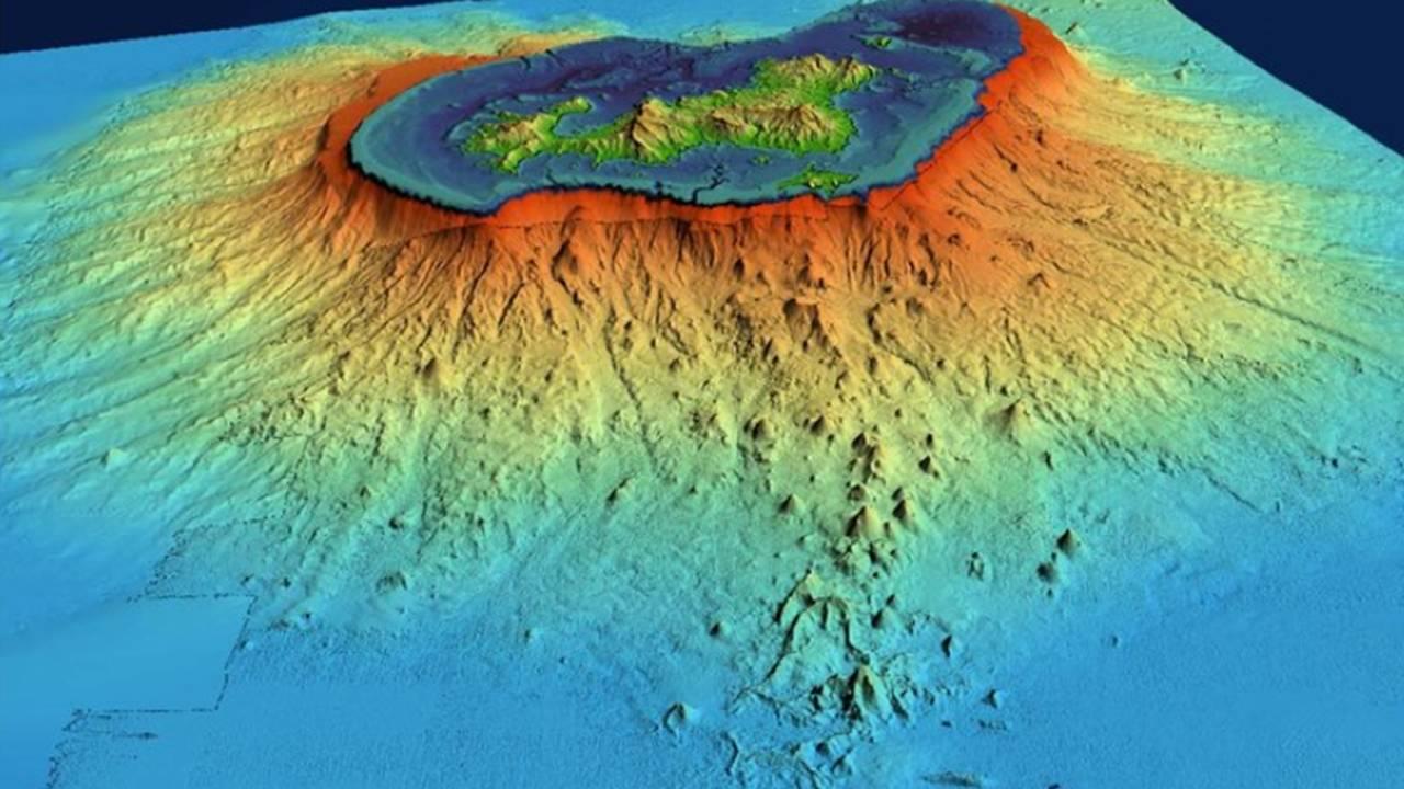 Pesquisadores descobrem vulcão submarino com a maior erupção já documentada