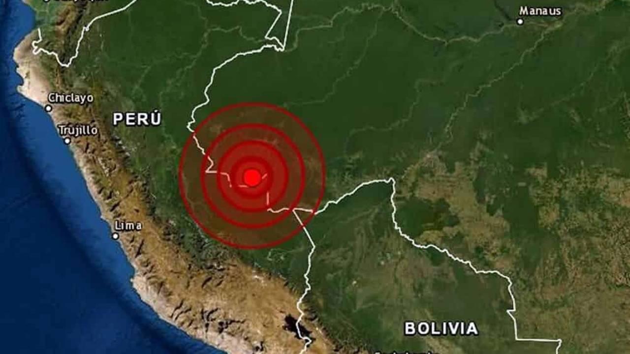 Tremor de magnitude 5,9 é registrado em Tarauacá no Acre