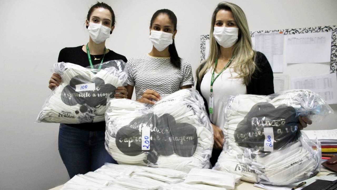 500 máscaras caseiras serão distribuídas pela Central de Regulação Ambulatorial