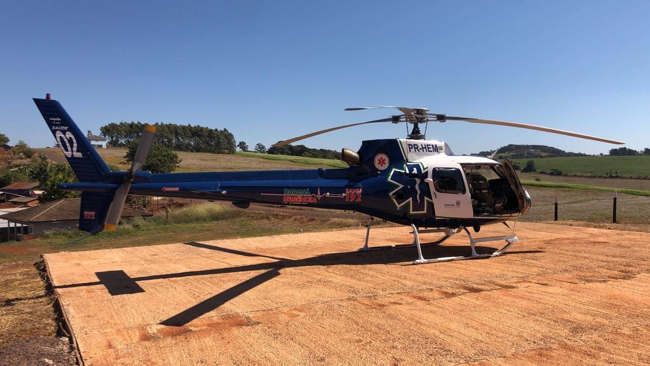 Consamu ganha novo heliponto no município de Lindoeste