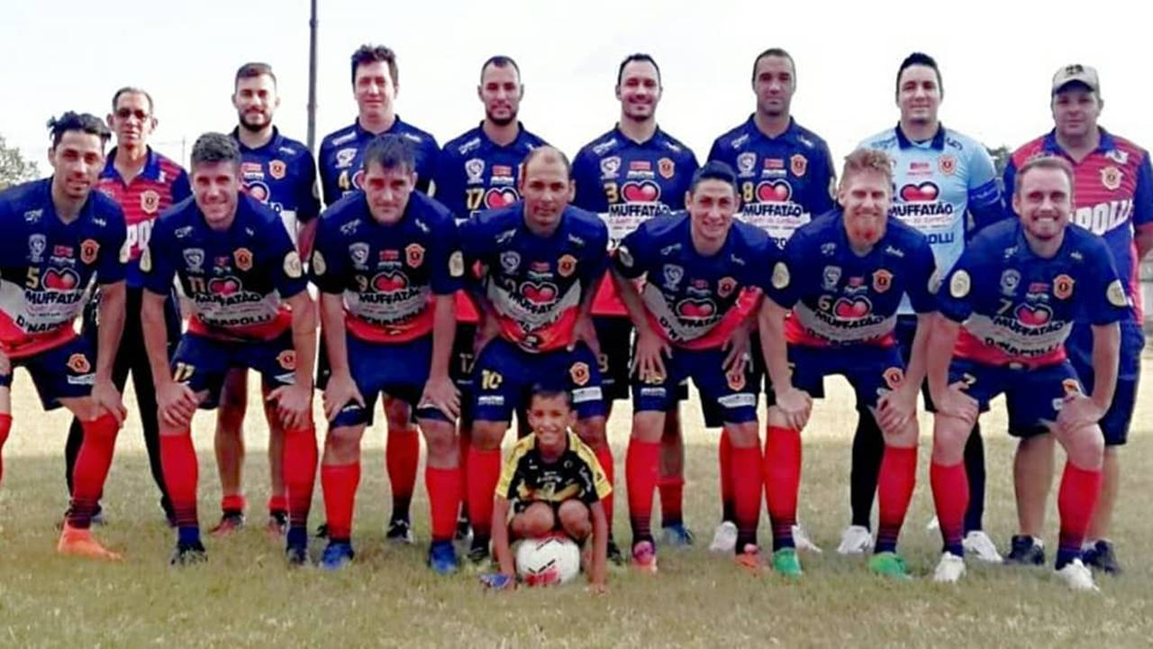 D'Napoli FC goleia Amigos do Guarujá por 9 a 1 na 1ª Copa Amadora Regional
