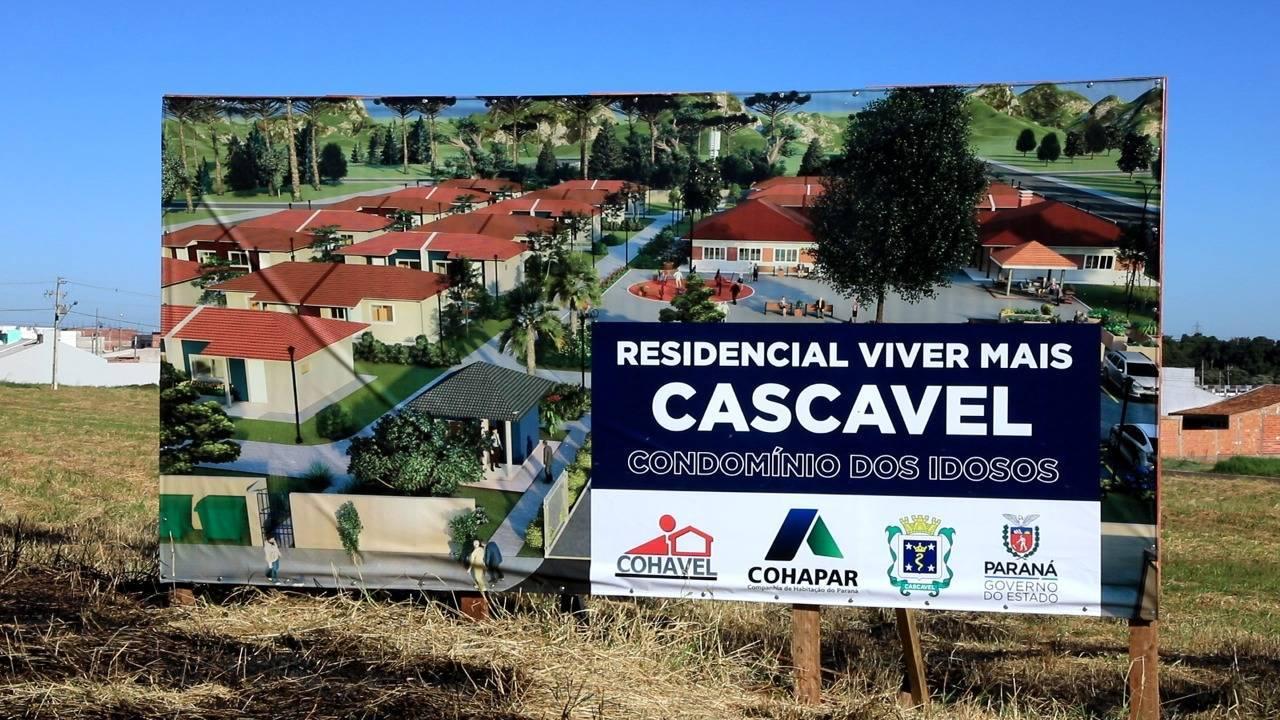 Programa habitacional vai beneficiar idosos com mais de 60 anos em Cascavel