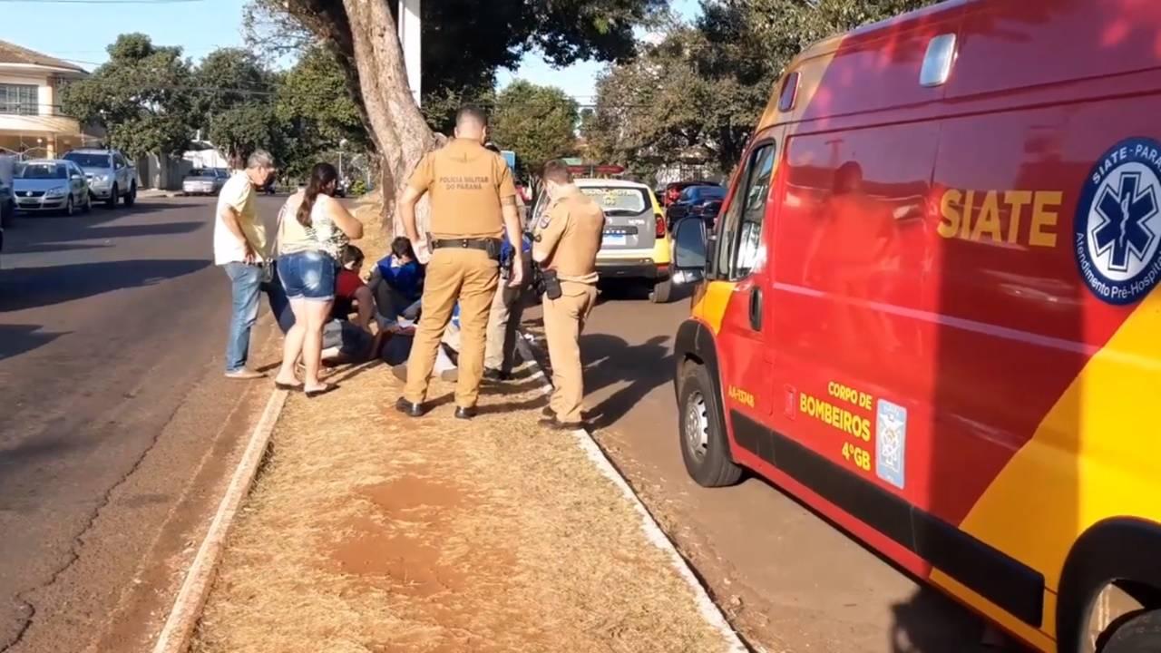 Mulher é apedrejada após discussão no Bairro Maria Luiza