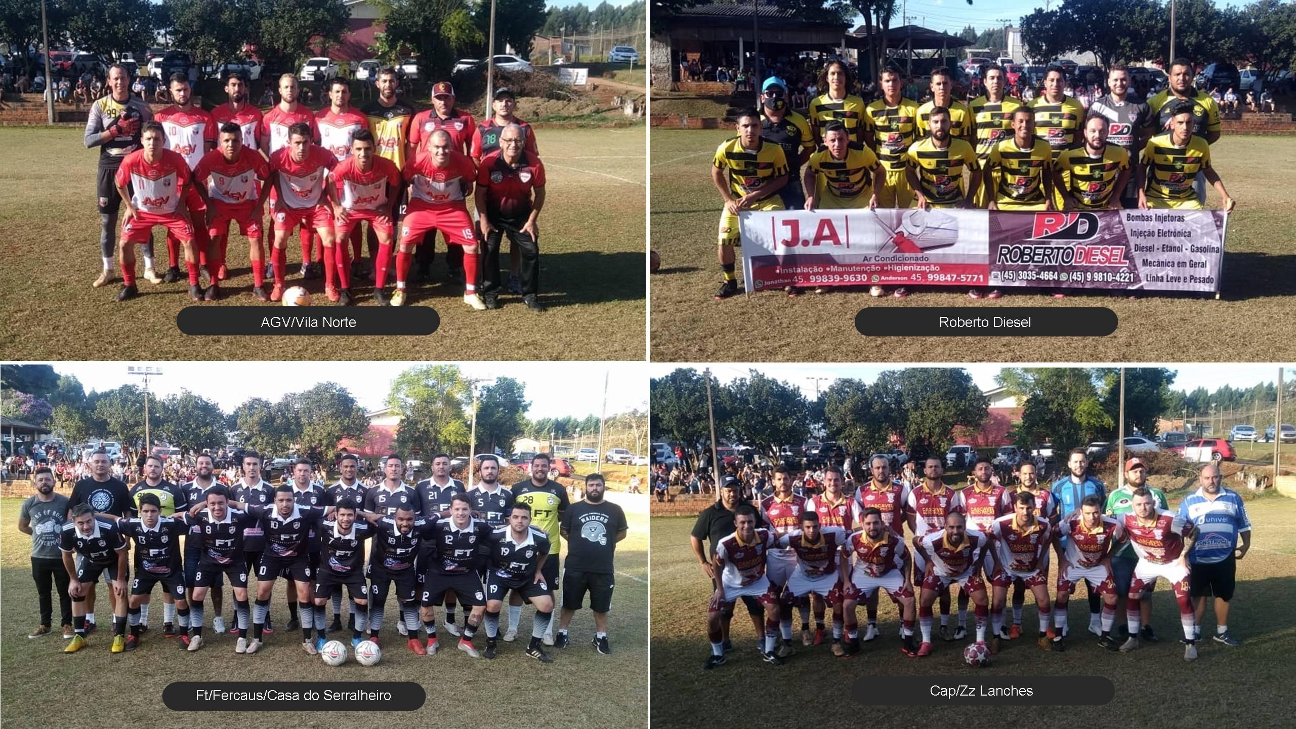 AGV/Vila Norte e FT/Fercaus vencem e estão na grande final do 11º Campeonato Chácara Fardoski