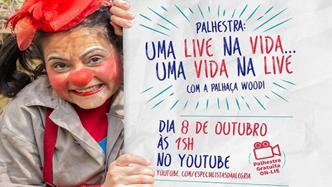 Dia das Crianças chegando e terá 'Palhestra' para os alunos