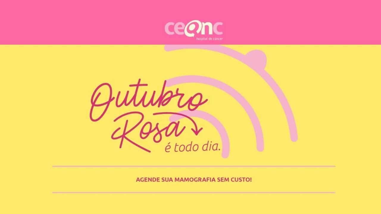 Outubro Rosa: Mulheres a partir dos 40 anos podem agendar a mamografia de forma online