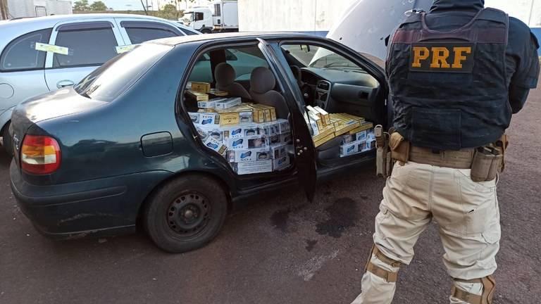 Operação Égide: No Paraná, homem é detido pela 7ª vez por contrabando