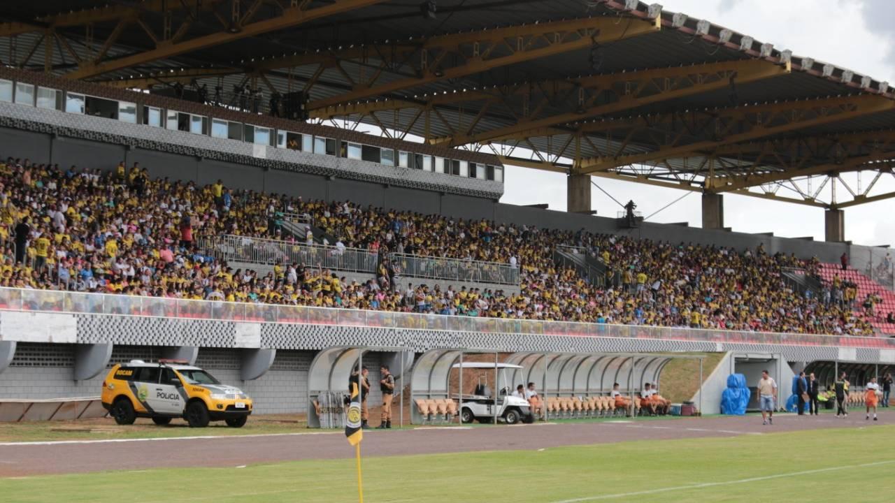 FC Cascavel inicia venda de ingressos para o segundo jogo da final do Paranaense 2021