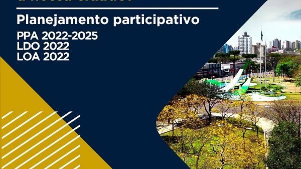 Cascavelenses podem participar das decisões sobre o Planejamento Orçamentário do Município