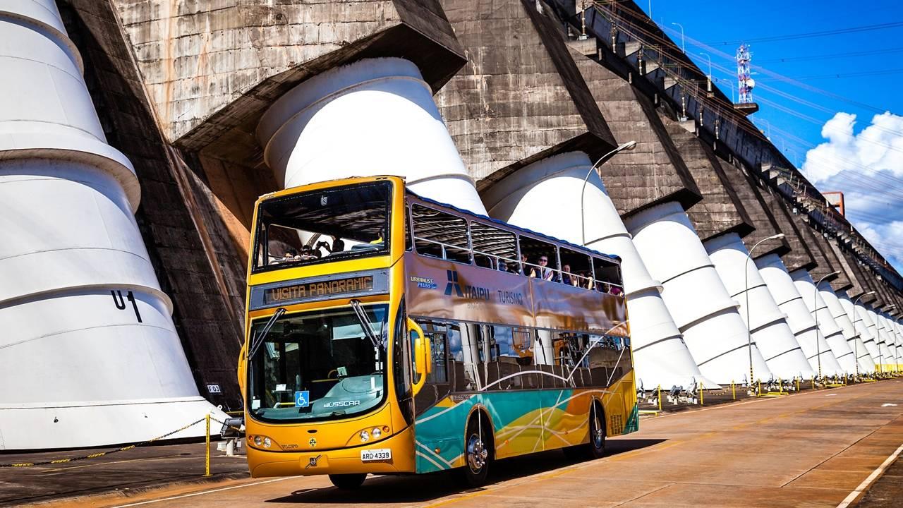 Atrativos da usina de Itaipu recebem mais de 1.100 visitantes no feriadão da Páscoa