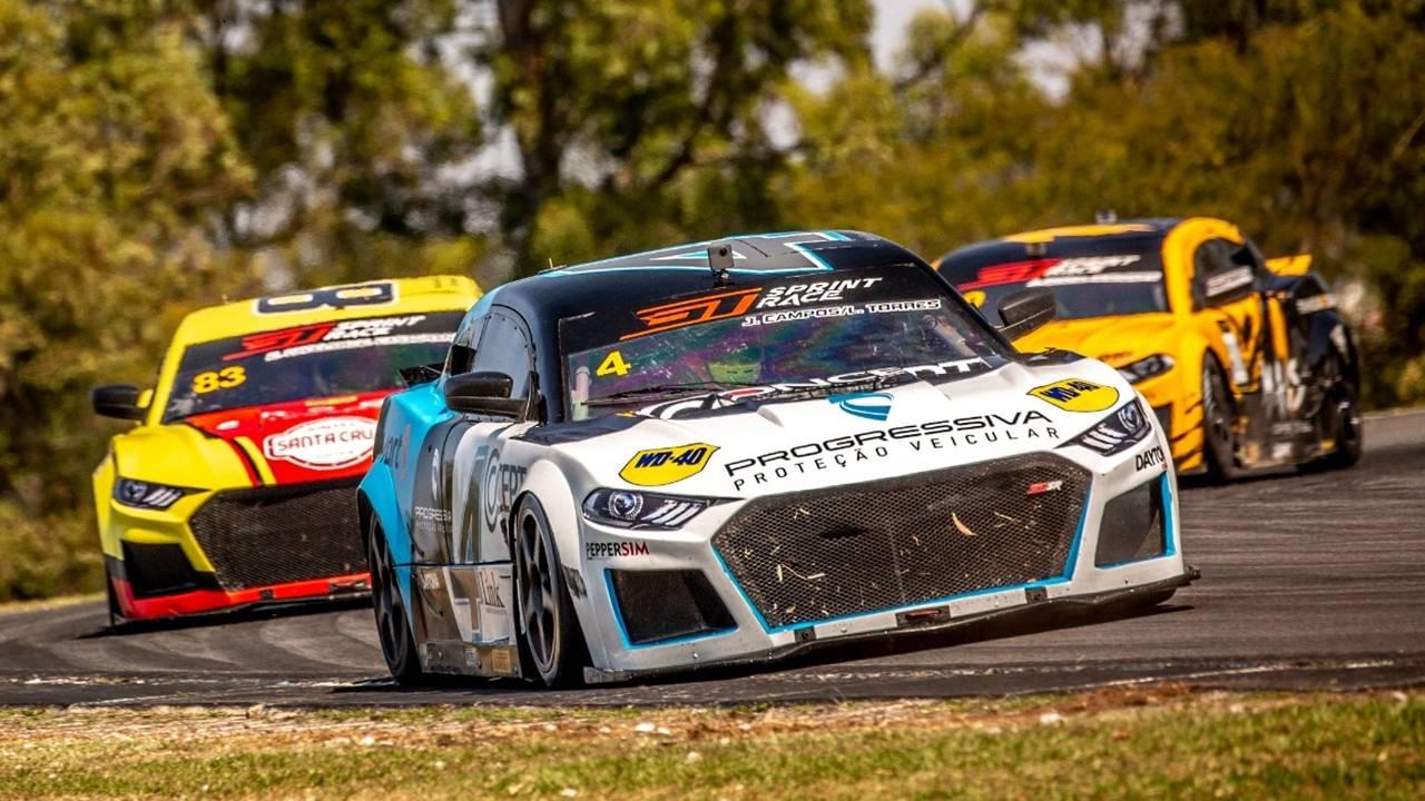 Léo Torres e Julio Campos disparam liderança da GT Sprint Race 2021