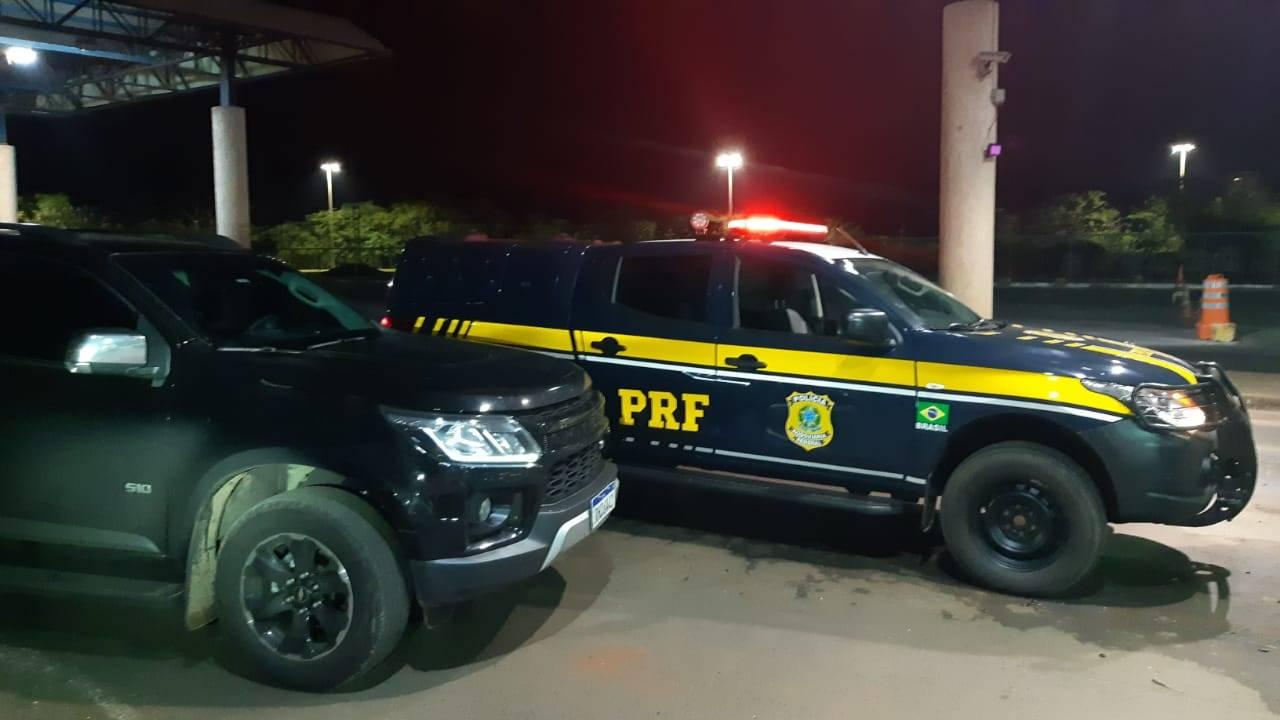 PRF Guaíra recupera S10 furtada em Cascavel, antes mesmo do proprietário dar falta do veículo