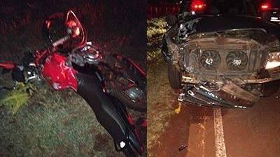 Motociclista perde a vida após colisão contra caminhonete em Tupãssi