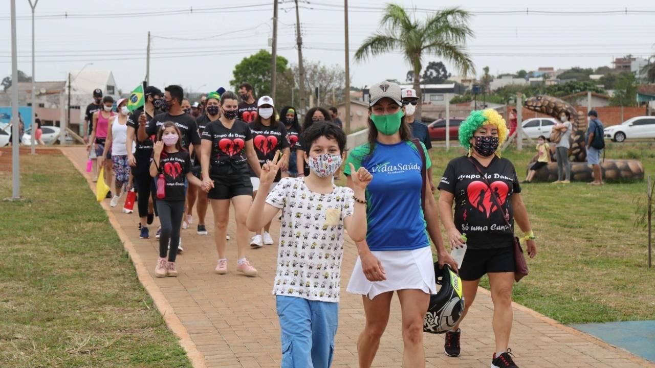Cascavelenses celebram 7 de Setembro em Caminhada da Independência