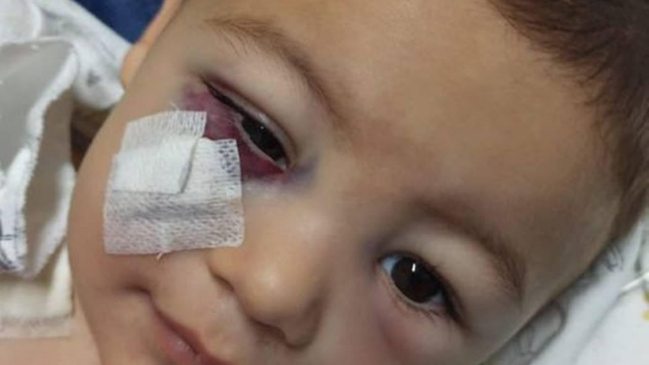 O bebê Henrique de 1 ano e 8 meses, único sobrevivente do ataque cruel, recebeu alta da UTI