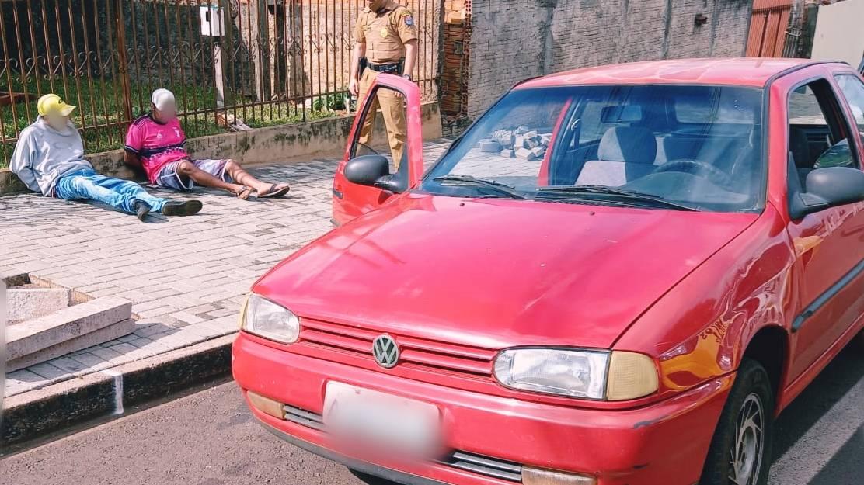 UPS Norte detém jovem, apreende adolescente e recupera Gol furtado no Bairro Brasmadeira