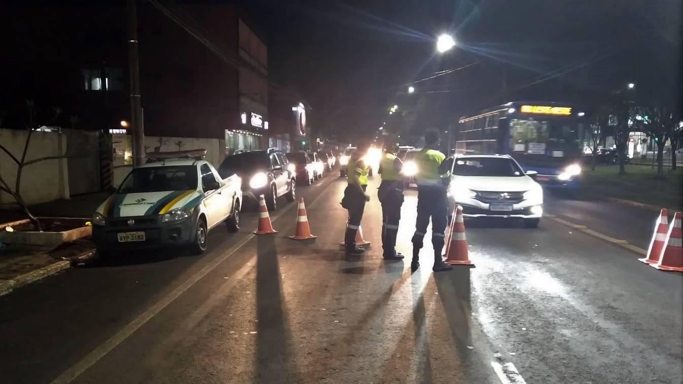 Feriadão da Independência tem 26 condutores flagrados dirigindo sem habilitação em Cascavel