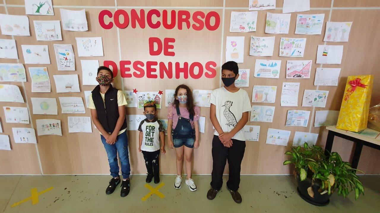 Concurso inédito de desenhos premia filhos de funcionários da Coopavel