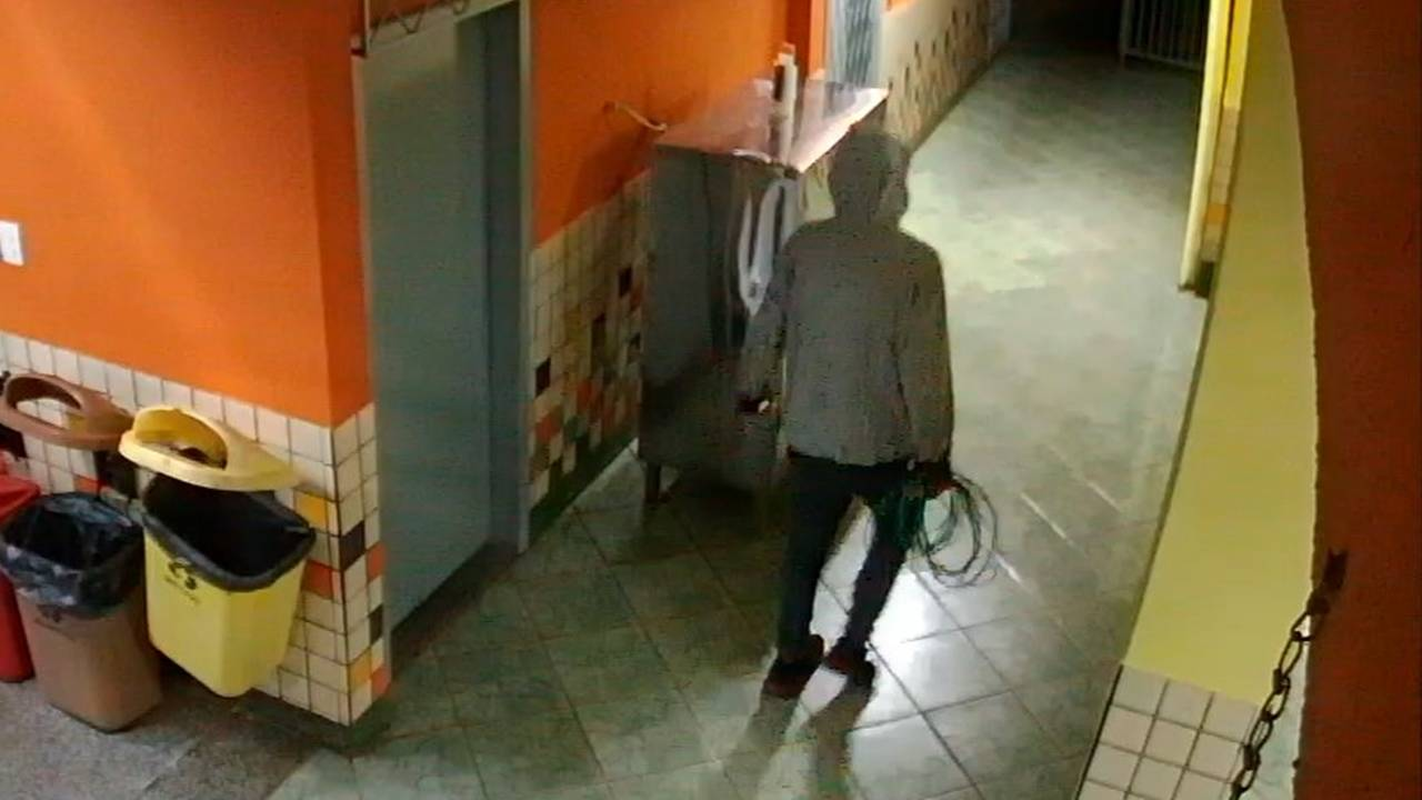 Novamente: Escola Municipal Terezinha é alvo de tentativa de furto de fios