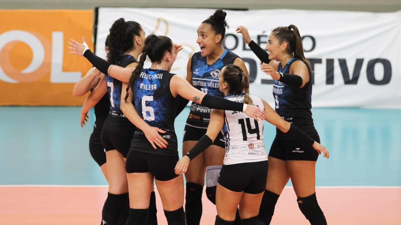 Curitiba Vôlei vence a segunda na Superliga 20/21
