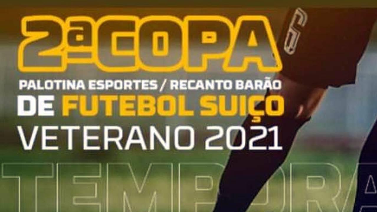 Inscrições para a 2ª Copa Recanto Barão Veteranos estão na reta final!
