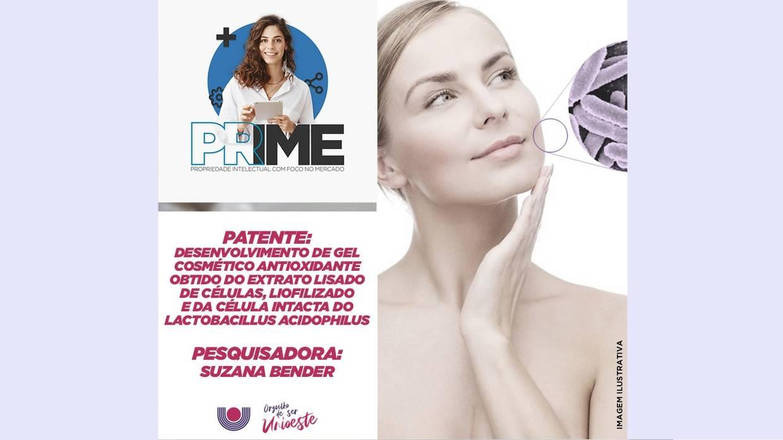Pesquisadores da Unioeste produzem cosmético à base de probiótico com efeito antioxidante
