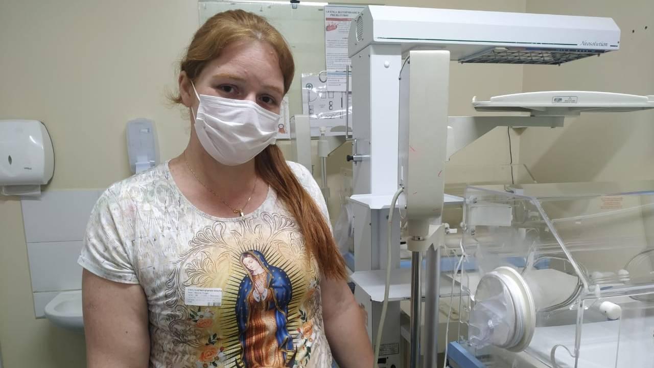 Apoio às mães é uma das marcas do Hospital Universitário do Oeste do Paraná