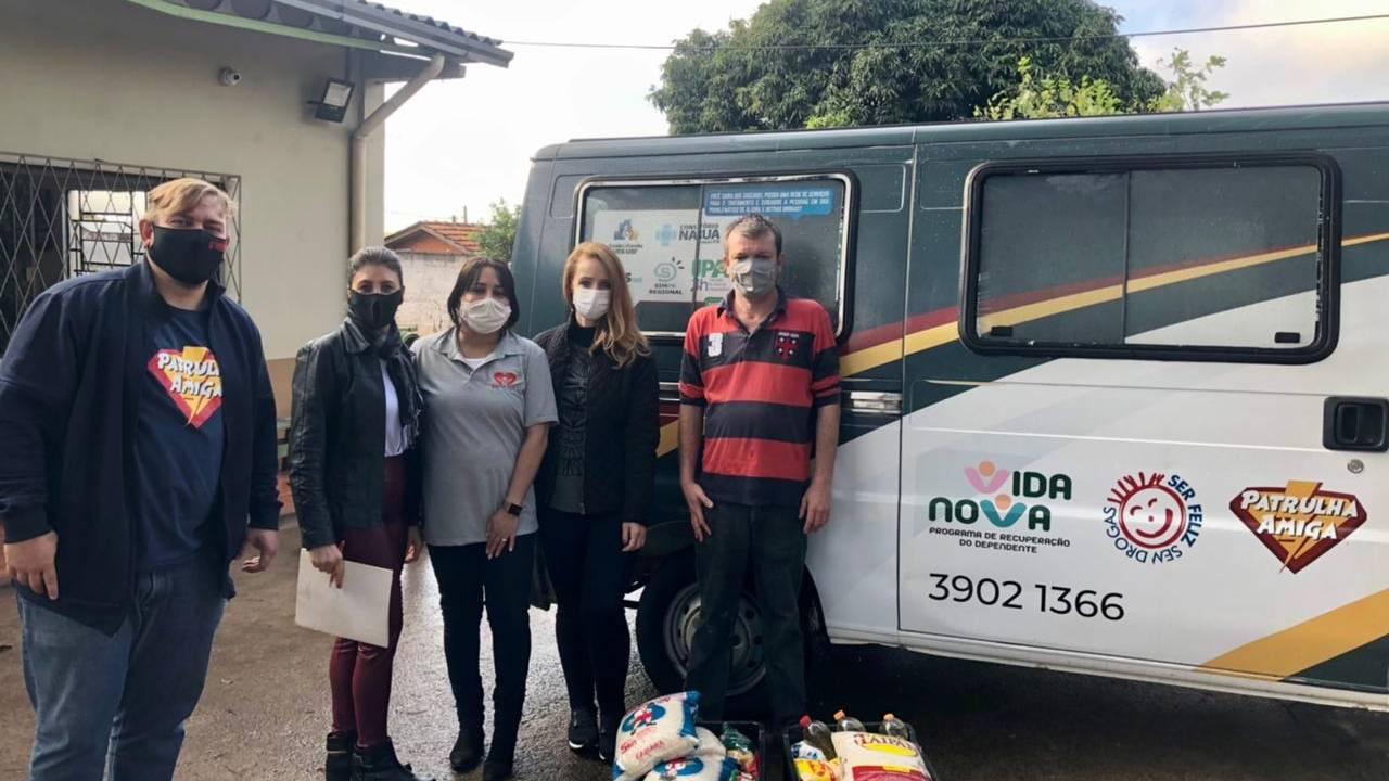 Entidades terapêuticas recebem doações de ação realizada pela Semppro