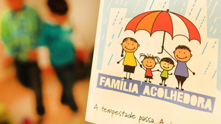 Estão abertas inscrições para Família Acolhedora em Cascavel