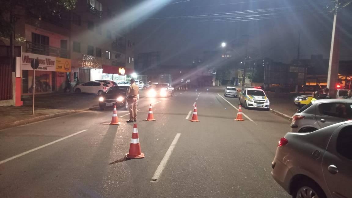 Forças de segurança realizam Operação Bloqueio em Cascavel