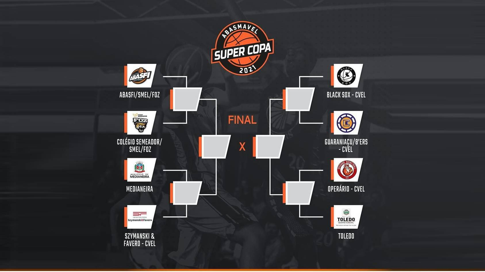 Definido os confrontos das quartas de final da Super Copa Abasmavel