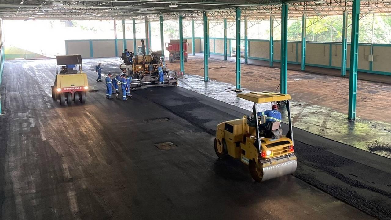 Centro de Educação Ambiental entra na fase final de construção