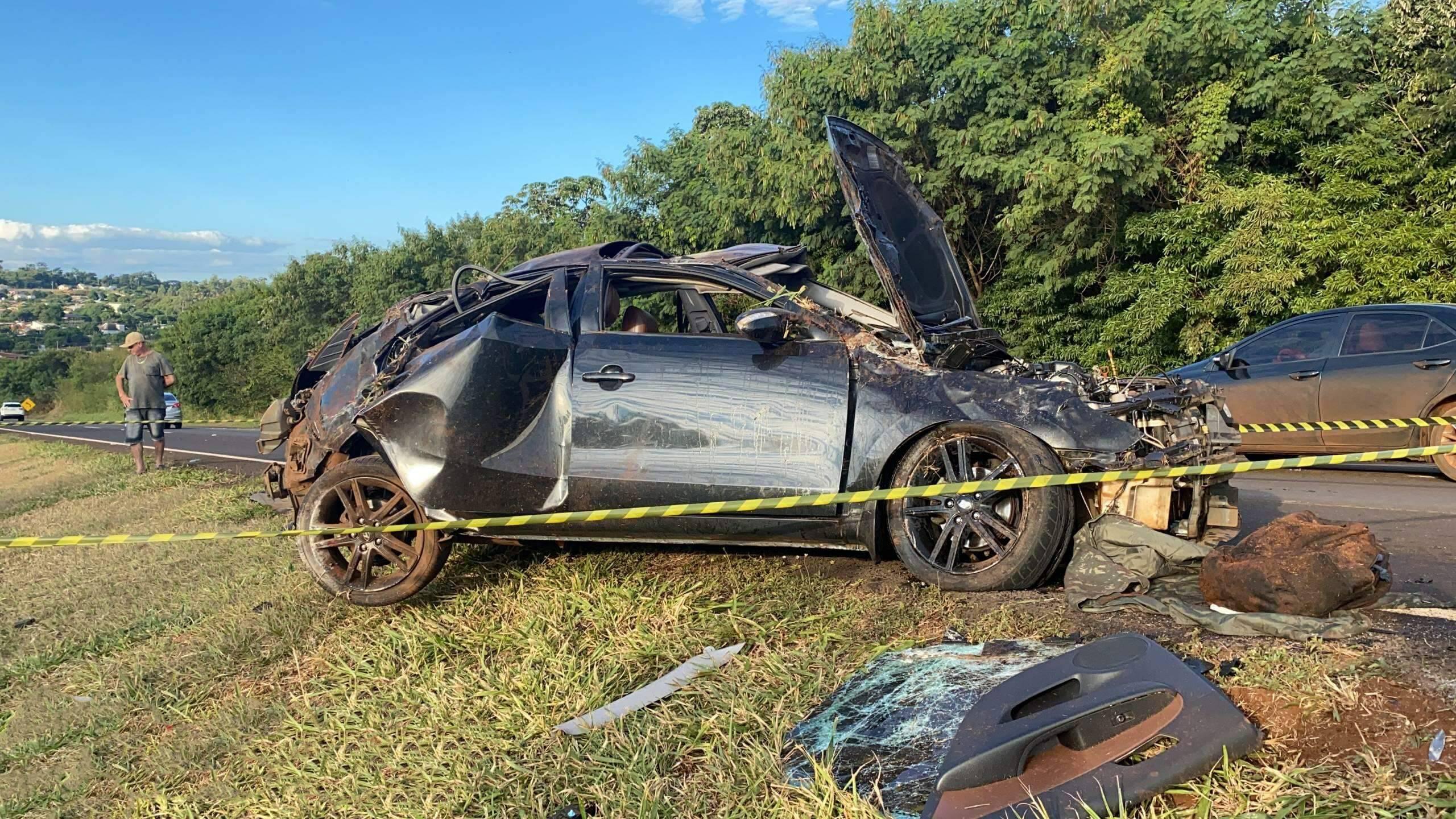 São Miguel: Homem morre em gravíssimo acidente na BR 277