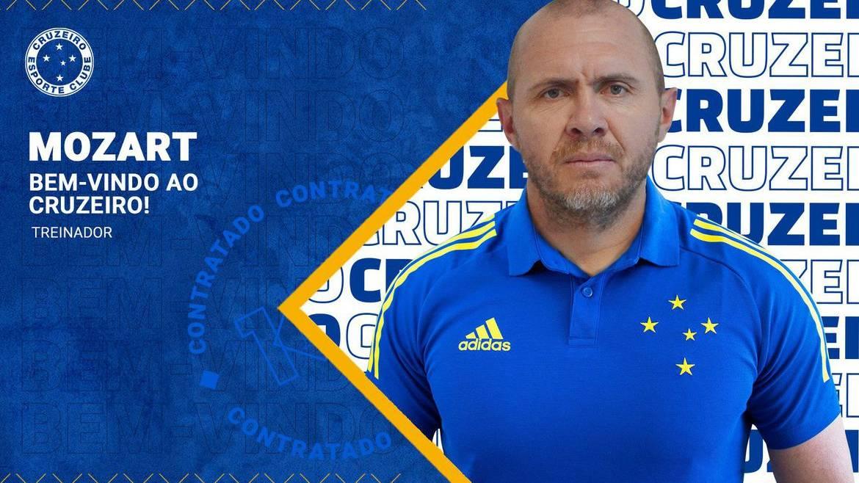 Após queda na Copa do Brasil, Cruzeiro anuncia Mozart como técnico