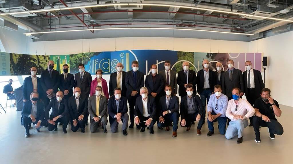 Paranhos participa da abertura do Pavilhão Sustentável do Brasil na Expo Dubai 2020